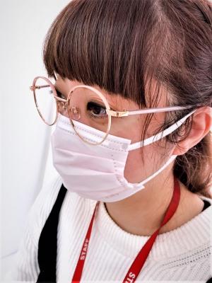 『マスクに似合うメガネ』