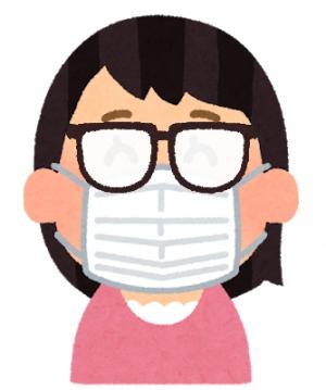 <b>メガネの曇り止め入荷!</b><br>マスクによるレンズのくもりをストップ!!